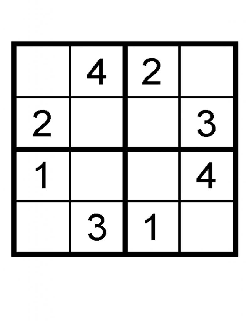 Printable Sudoku For Kids 6x6