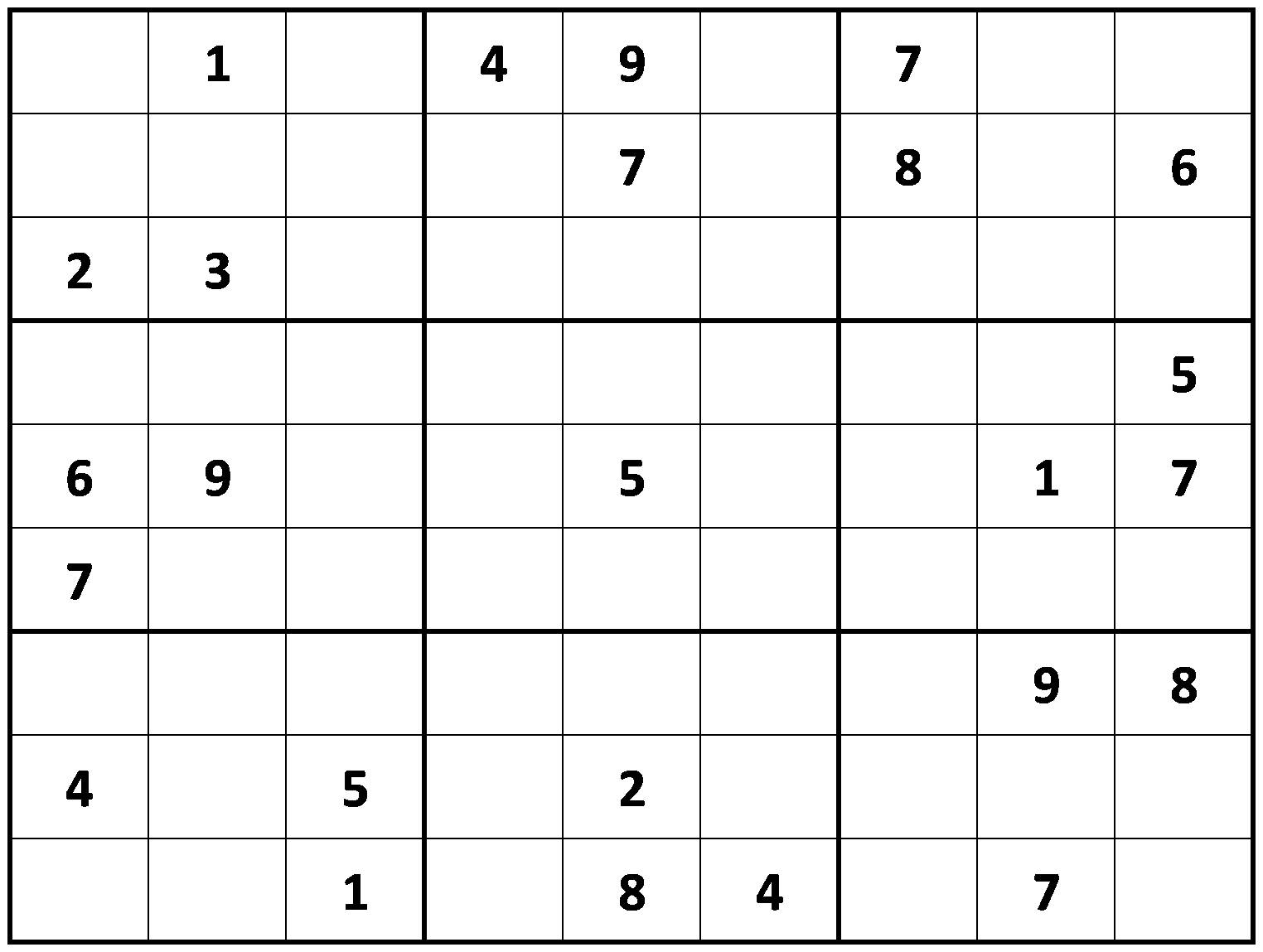 Difficult Sudoku Printable Free