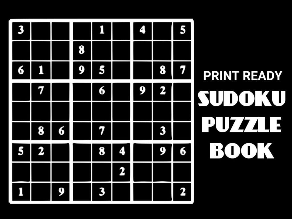 Printable Sudoku 99 Sudoku Printable