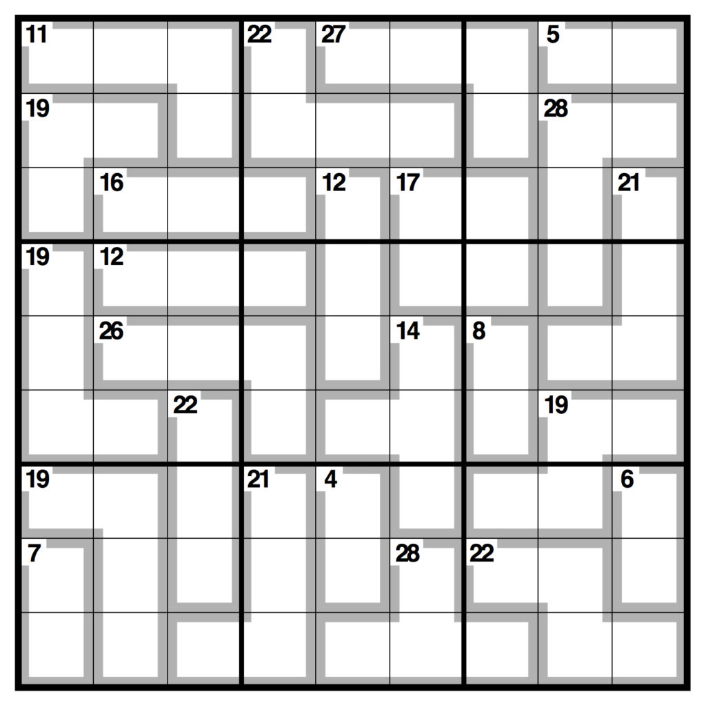 Printable Sudoku Fiendish Download Them And Try To Solve