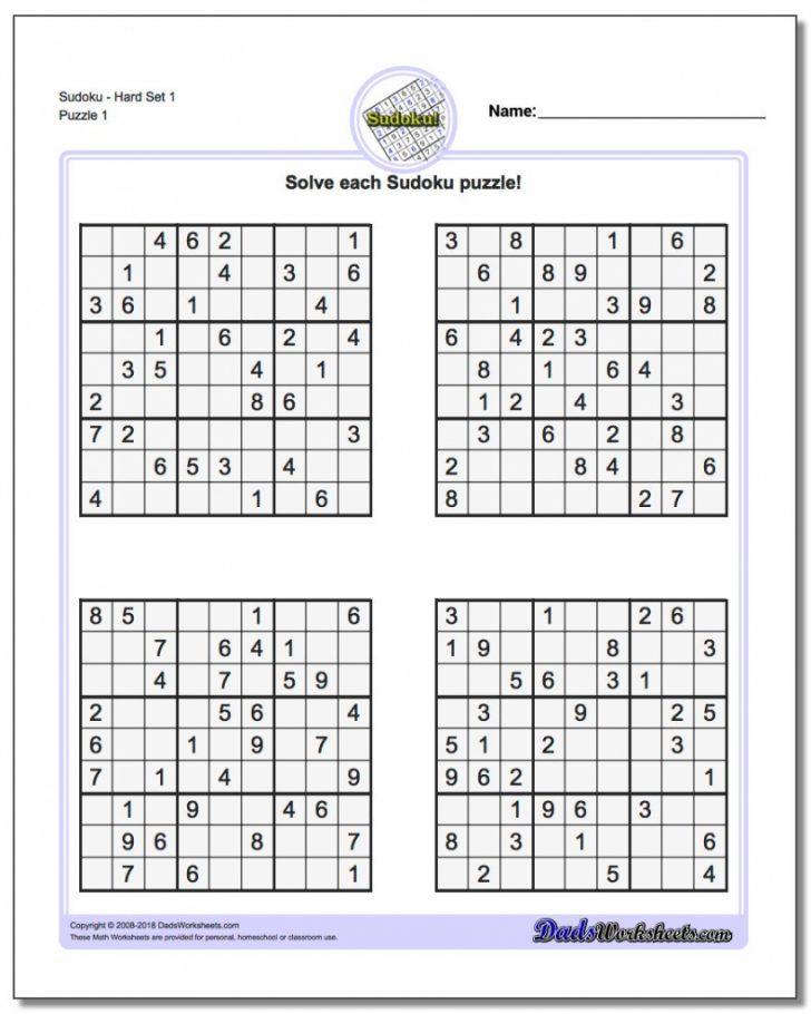 Usa Today Sudoku Printable