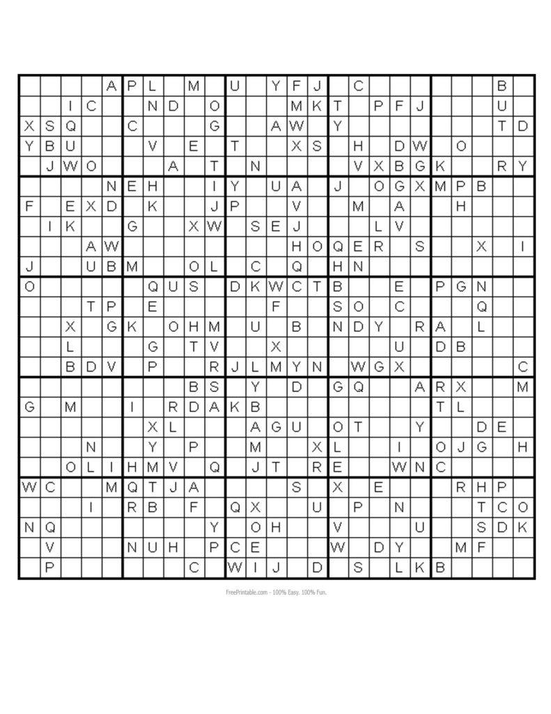 Printable Sudoku Postedmatt At 0110 No Comments A 2525