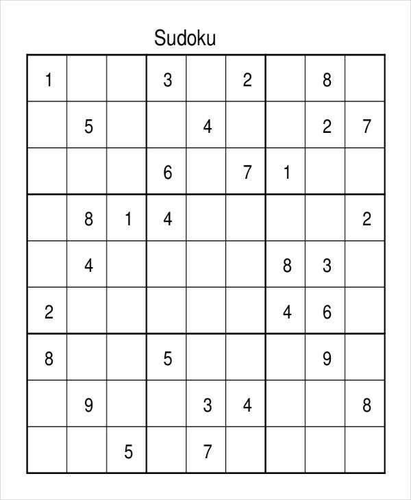 Extreme Sudoku Printable