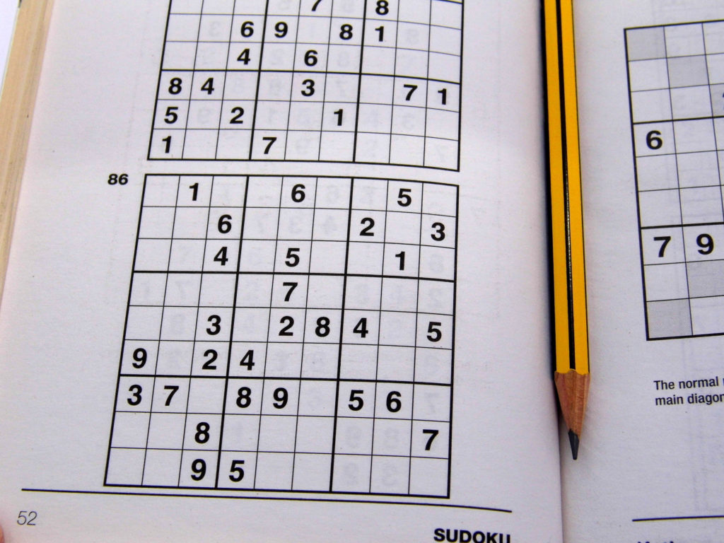 Printable Sudoku Puzzles 2 Per Page Printable Crossword