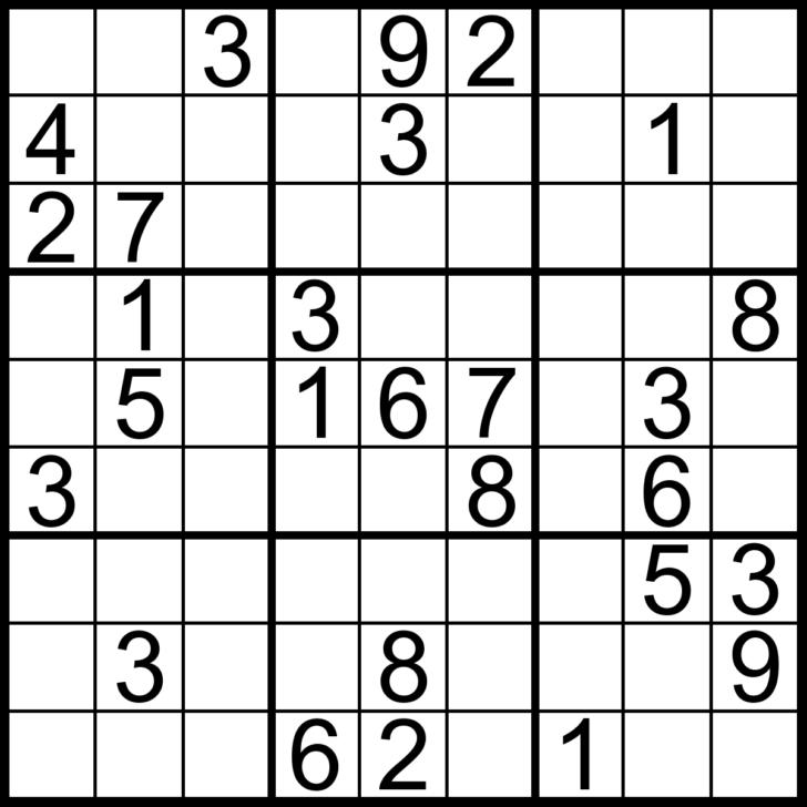 Picture Sudoku Printable