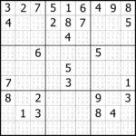 Printable Sudoku Puzzles Easy 1 Answers Printable