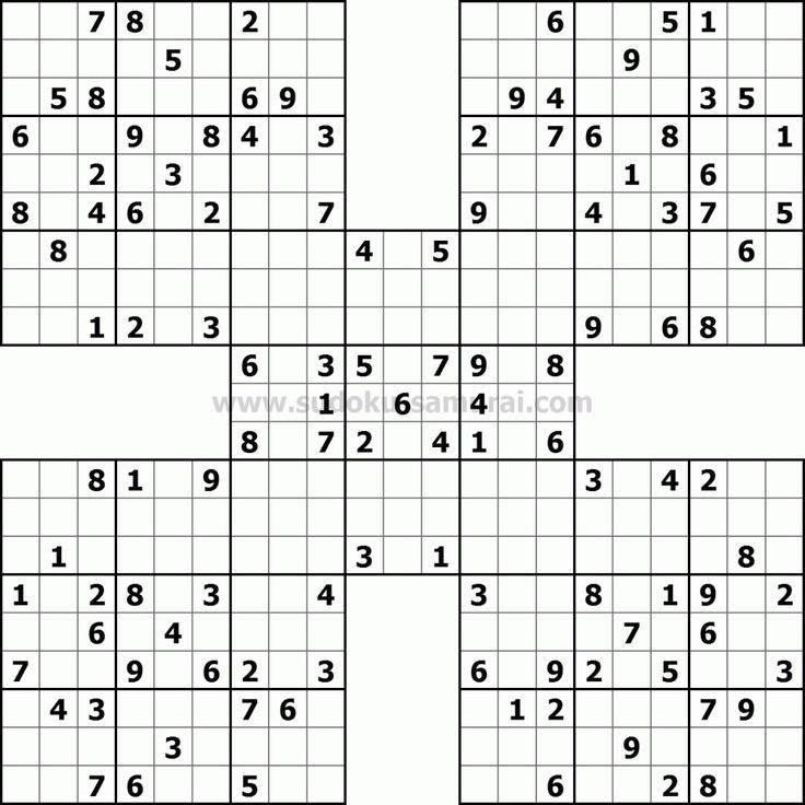 Children's Sudoku Printable