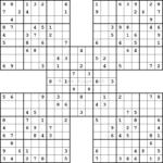 Samurai Sudoku Online Sudokus Juegos Mentales Matematicas
