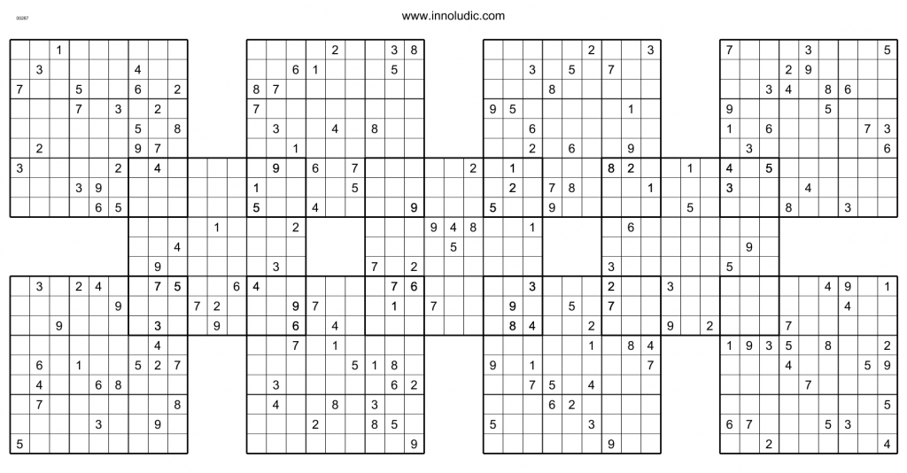 Printable 3d Sudoku Puzzles
