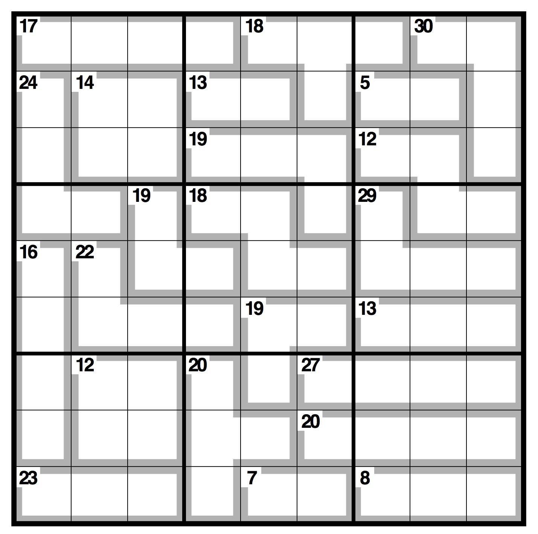 12x12 Sudoku Printable