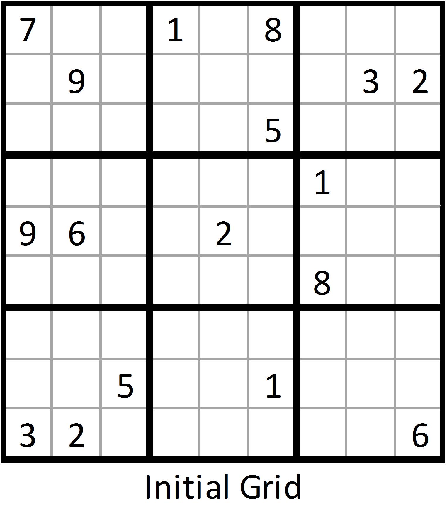 Advanced Sudoku Printable