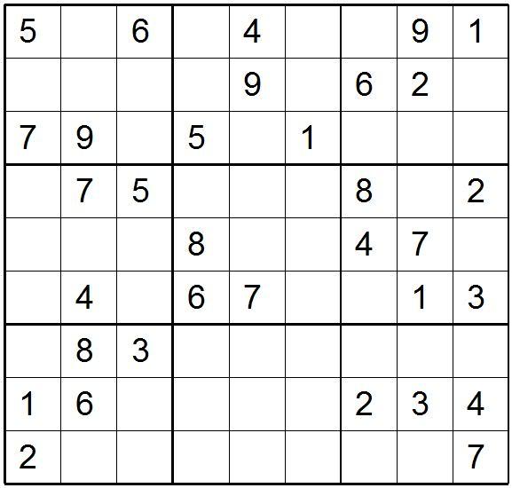 Daily Sudoku Archive Printable