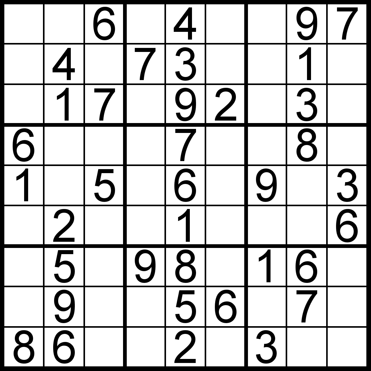 Very Easy Sudoku For Kids Printable