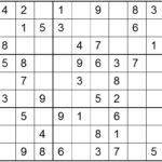 Sudoku Easy Super Printable Oppidan Library