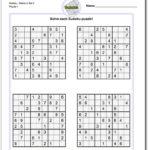 Sudoku Evil Level Printable Sudoku Printable