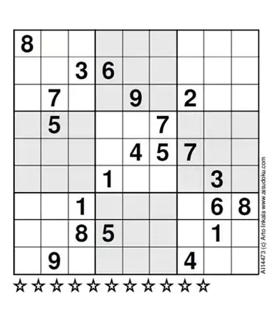 Expert Level Sudoku Printable