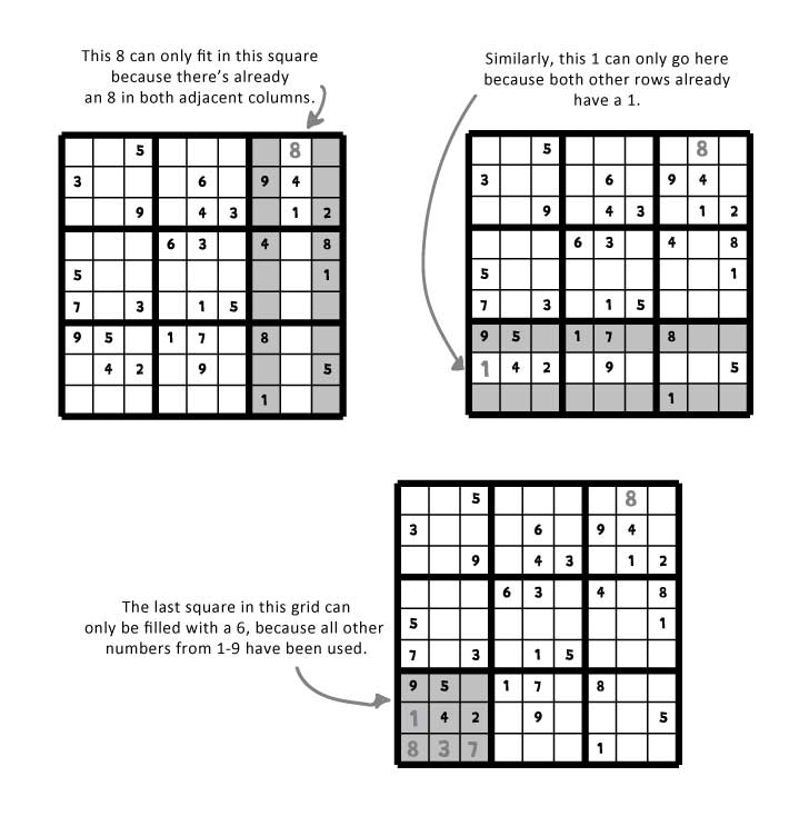 Easy Sudoku With Instructions Printable