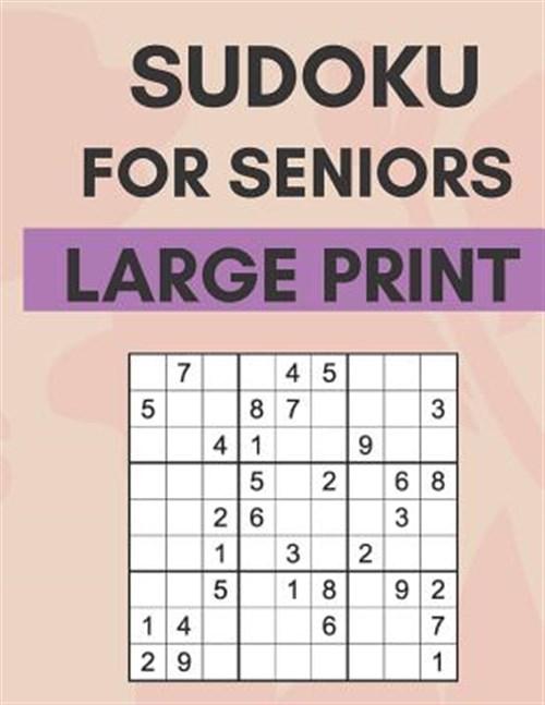Sudoku For Seniors Printable