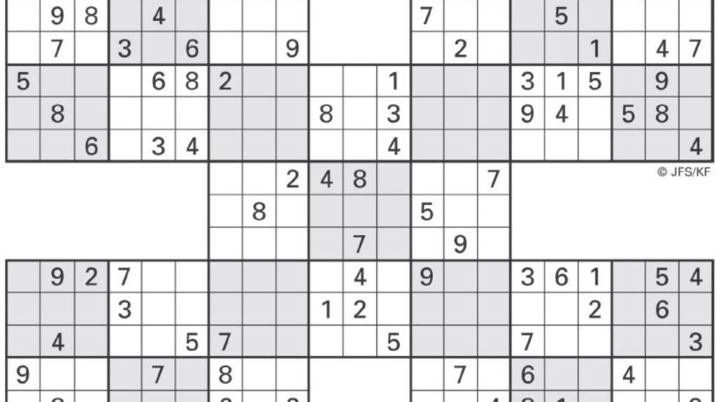 Sudoku High Fives Activity Shelter