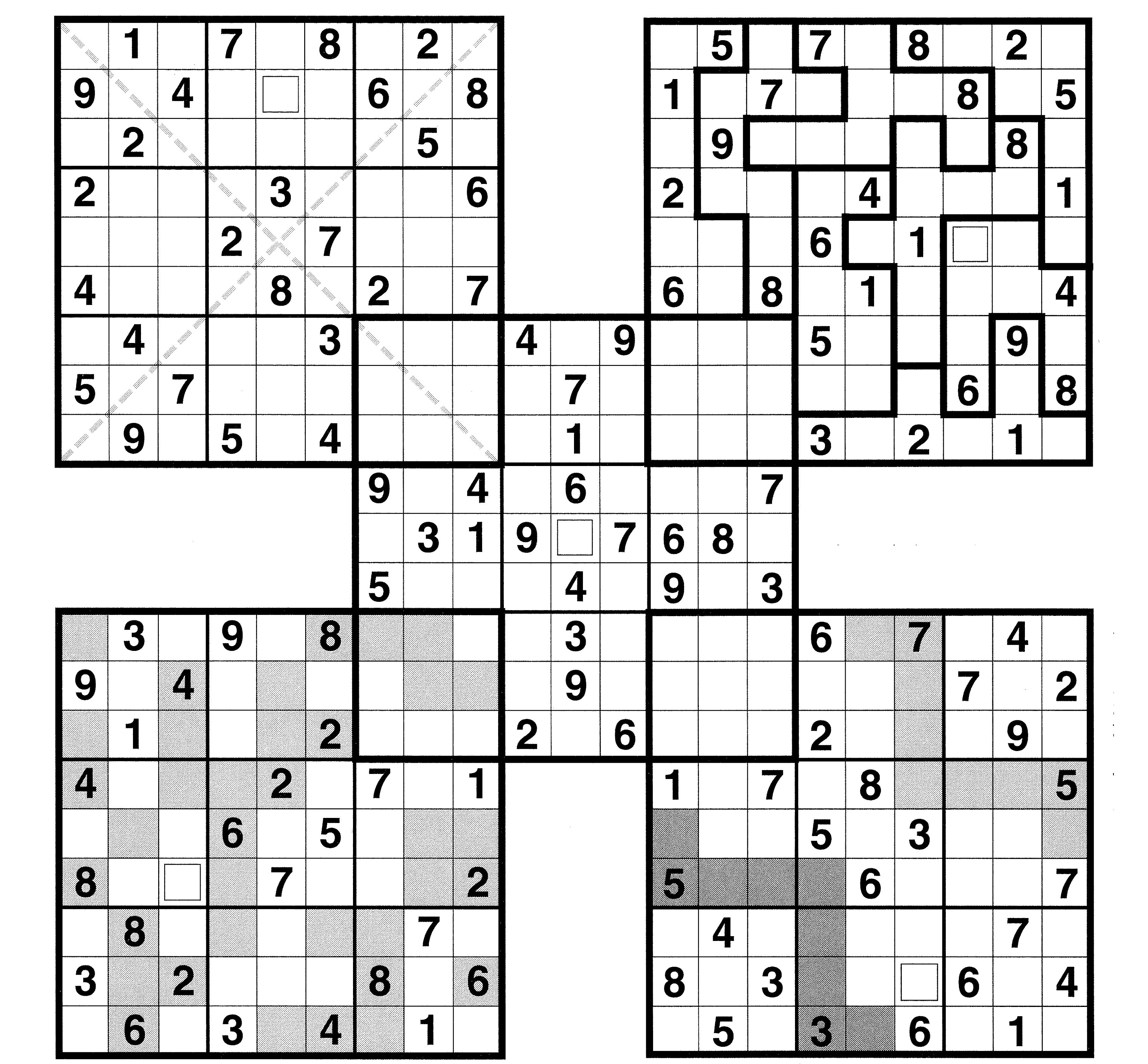 Sudoku High Fives Printable