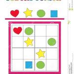 Sudoku Junior Stock Illustration Illustration Of