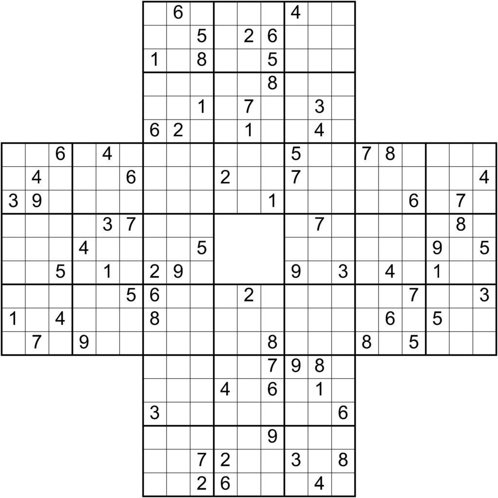 Sudoku Maker Printable Sudoku Printable