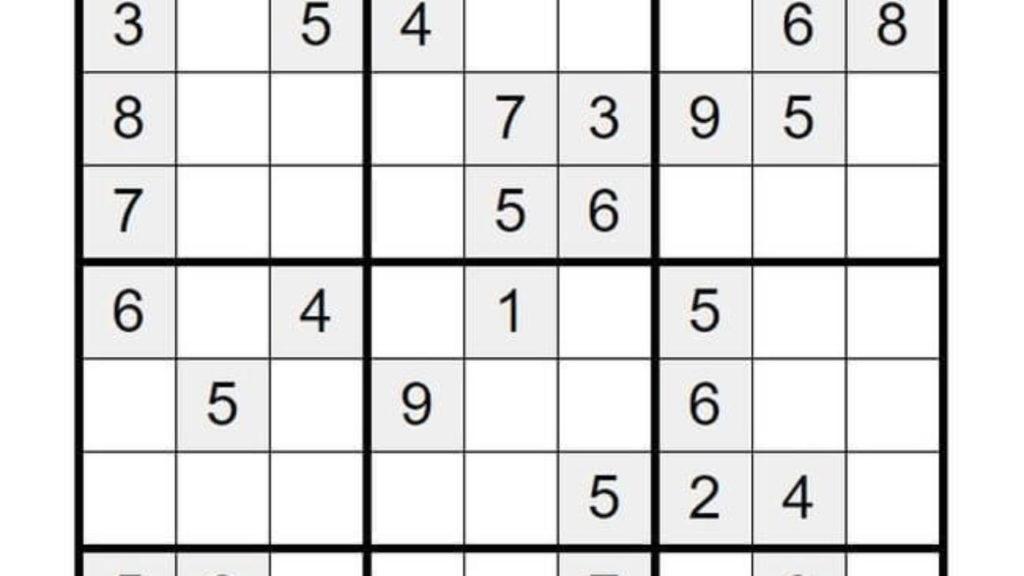 Sudoku Para Imprimir Resueltos Printable Template Free
