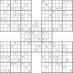 Sudoku Printables In 2020 Free Printable Puzzles