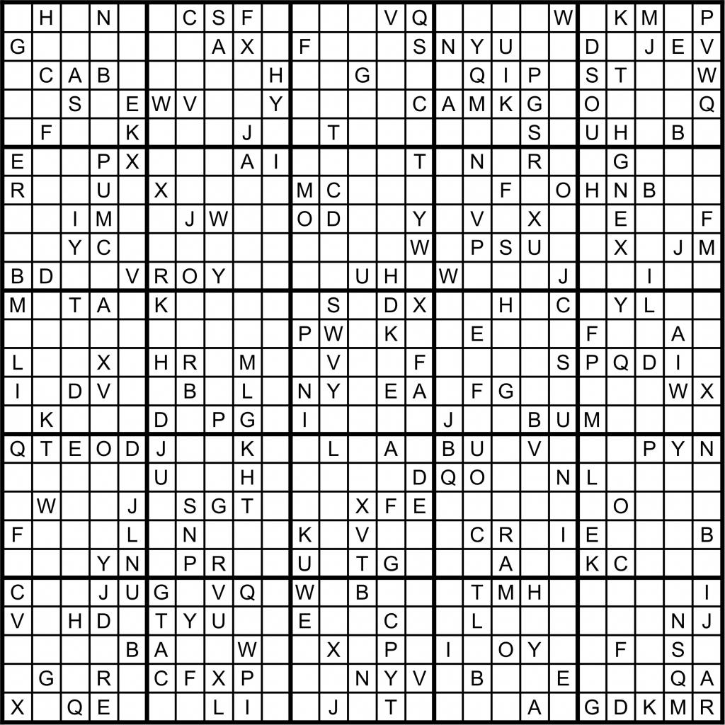 25x25 Sudoku Printable