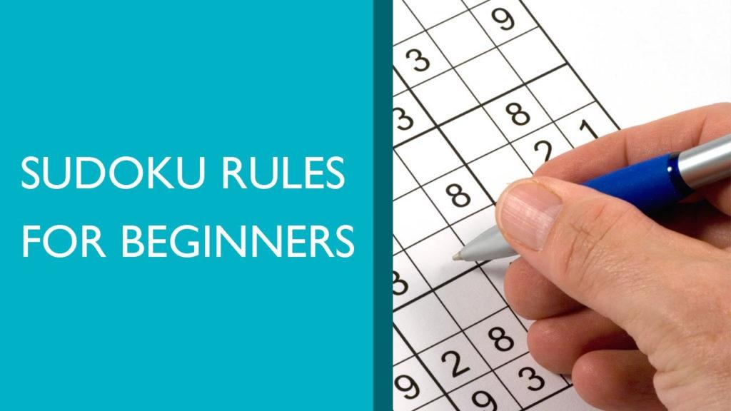 Sudoku Rules For Beginners YouTube