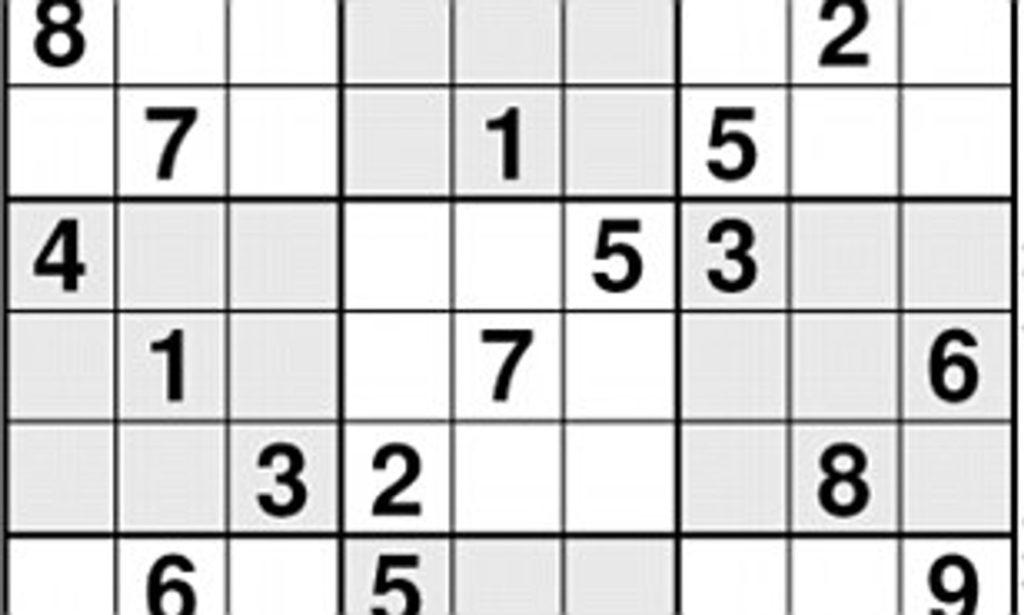 Sudoku Solution Daily Mail Online Sudoku Printable