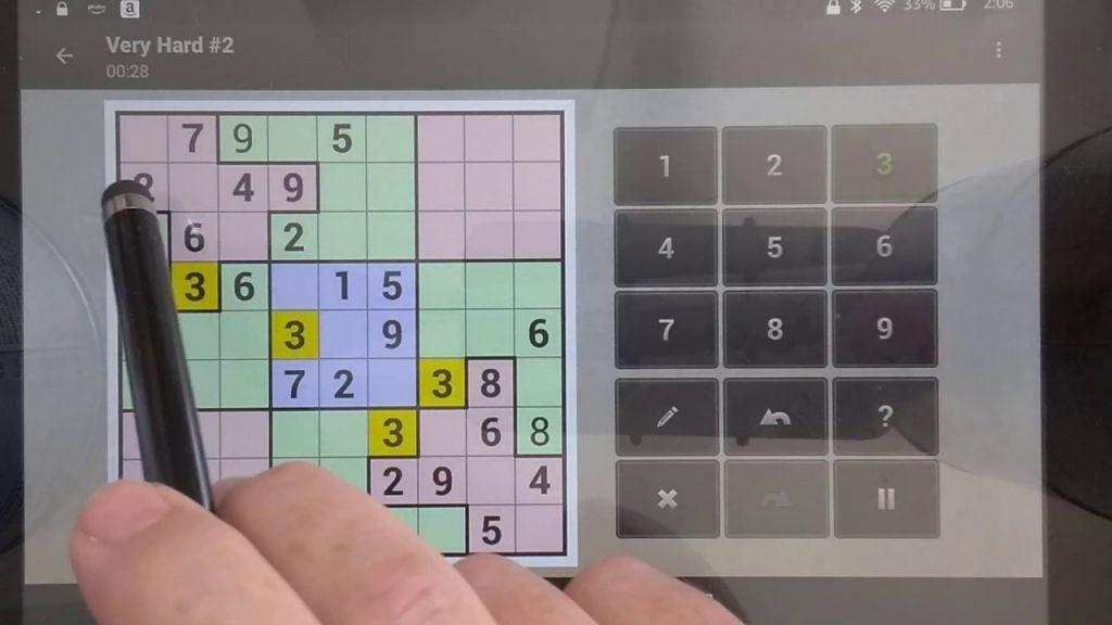 Squiggly Sudoku Printable