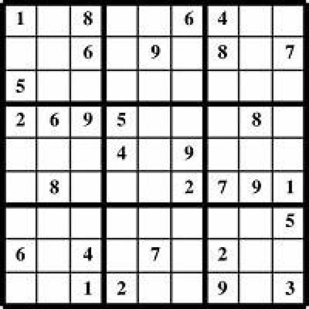 Sudoku Splash Zone Printable Sudoku Printable