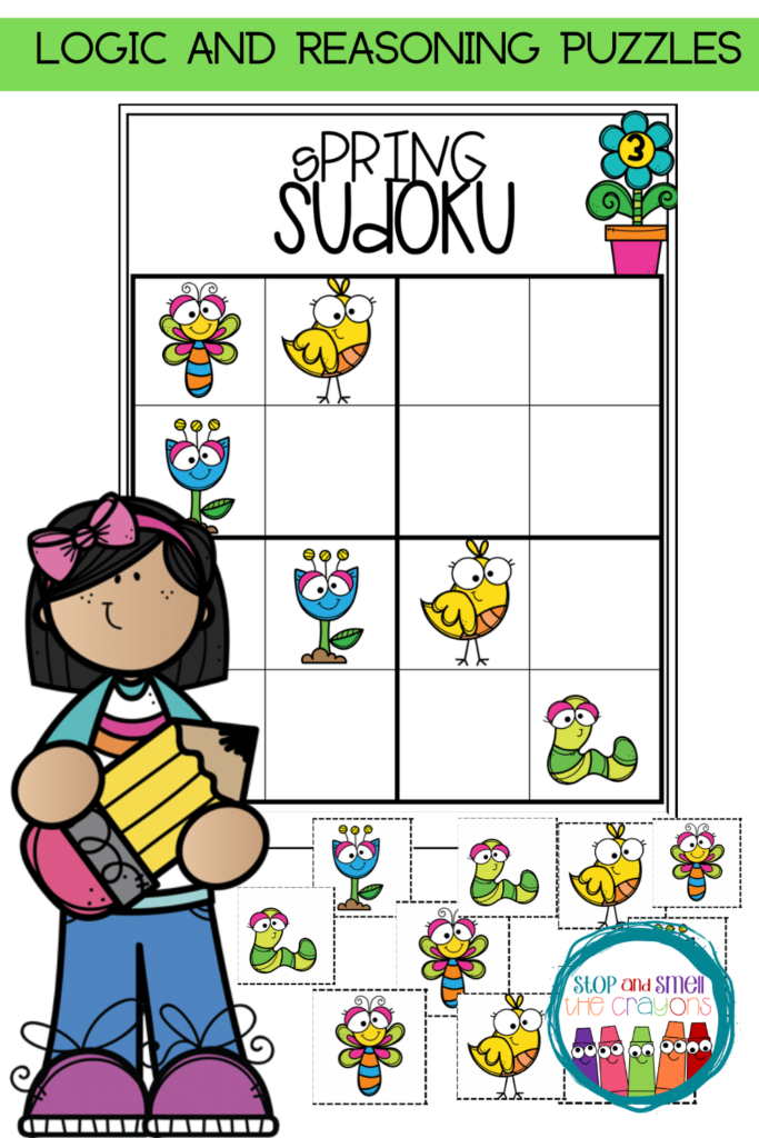Sudoku Spring Puzzles In 2020 With Images Phonics