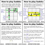 Sudoku Sudoku Game Guide Life Advice