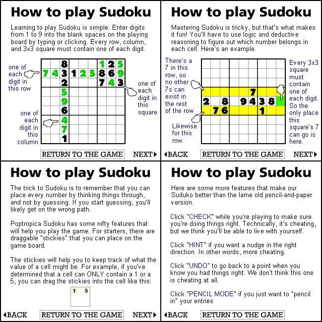 How To Play Sudoku Printable