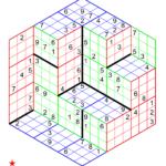 Sudoku Three Dimensions No 2