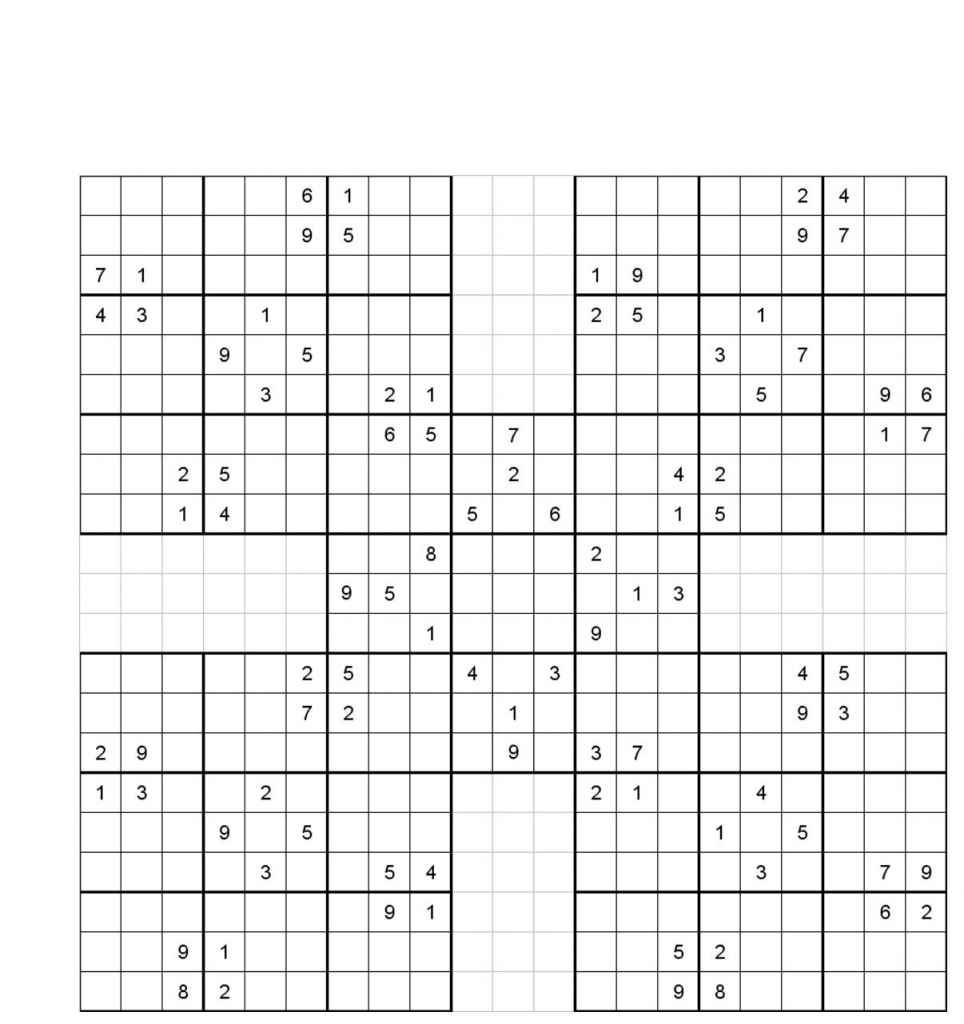 Sudoku With Letters And Numbers Printable