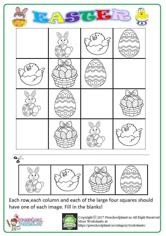 Easter Sudoku Printable