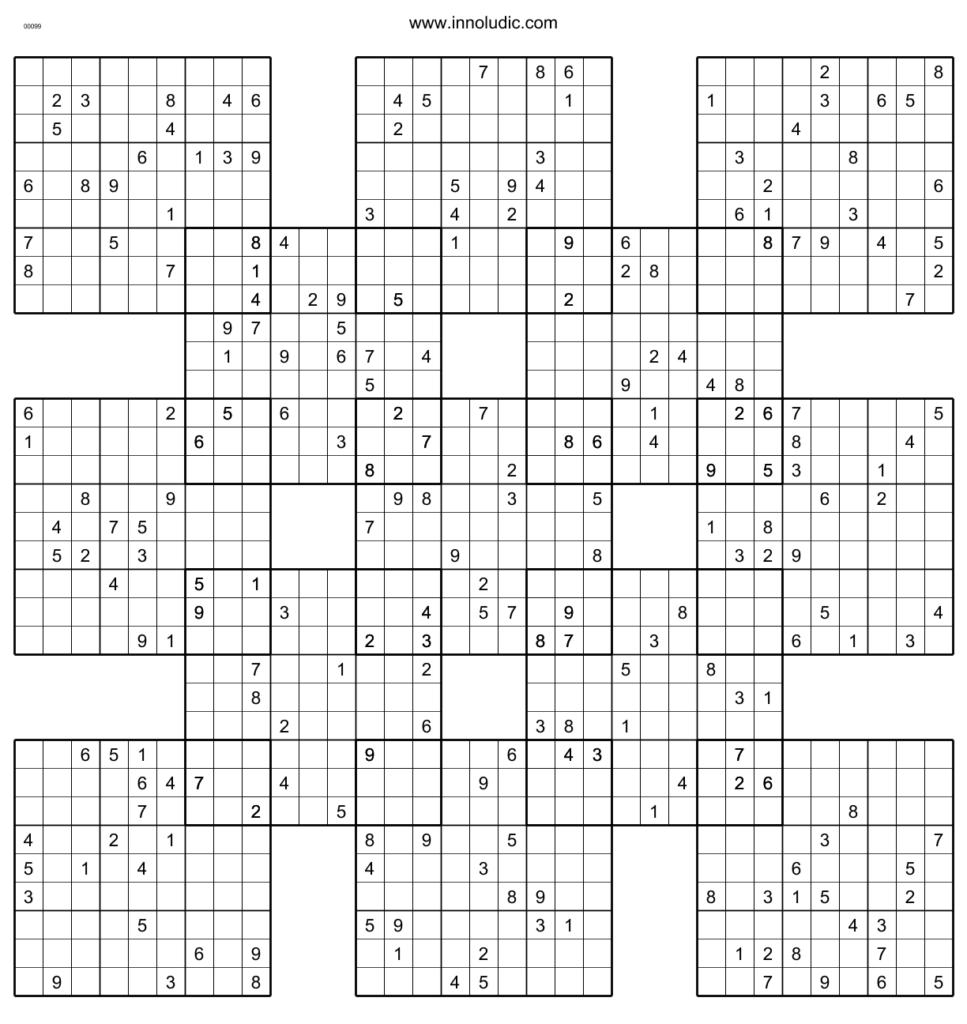 Sumo 5 Now THAT S A Sudoku Sudoku Printable