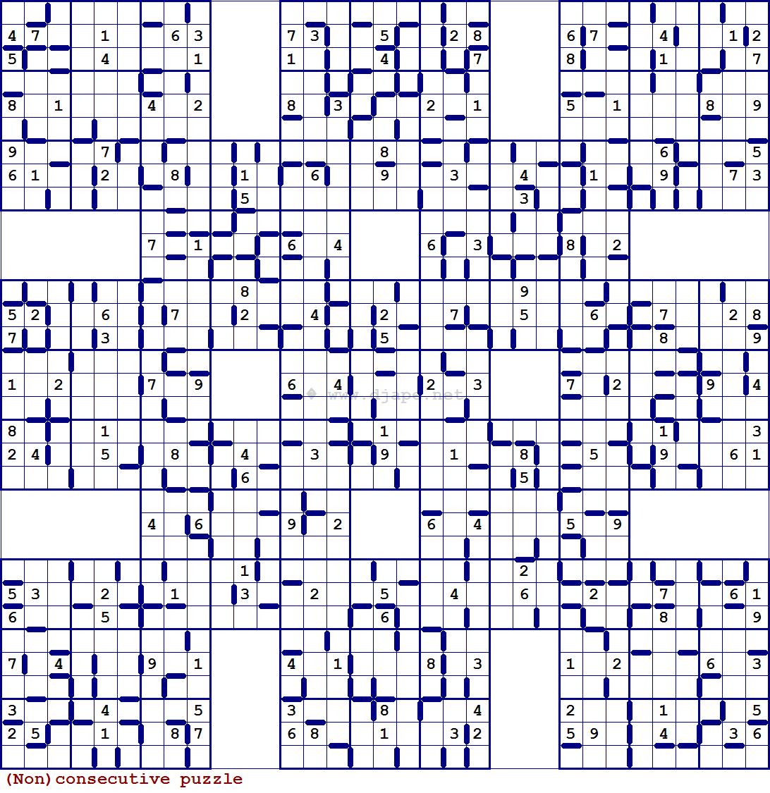 Sumo Sudoku Printable