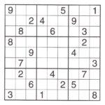 Super Hard Sudoku Printable Sudoku Printable