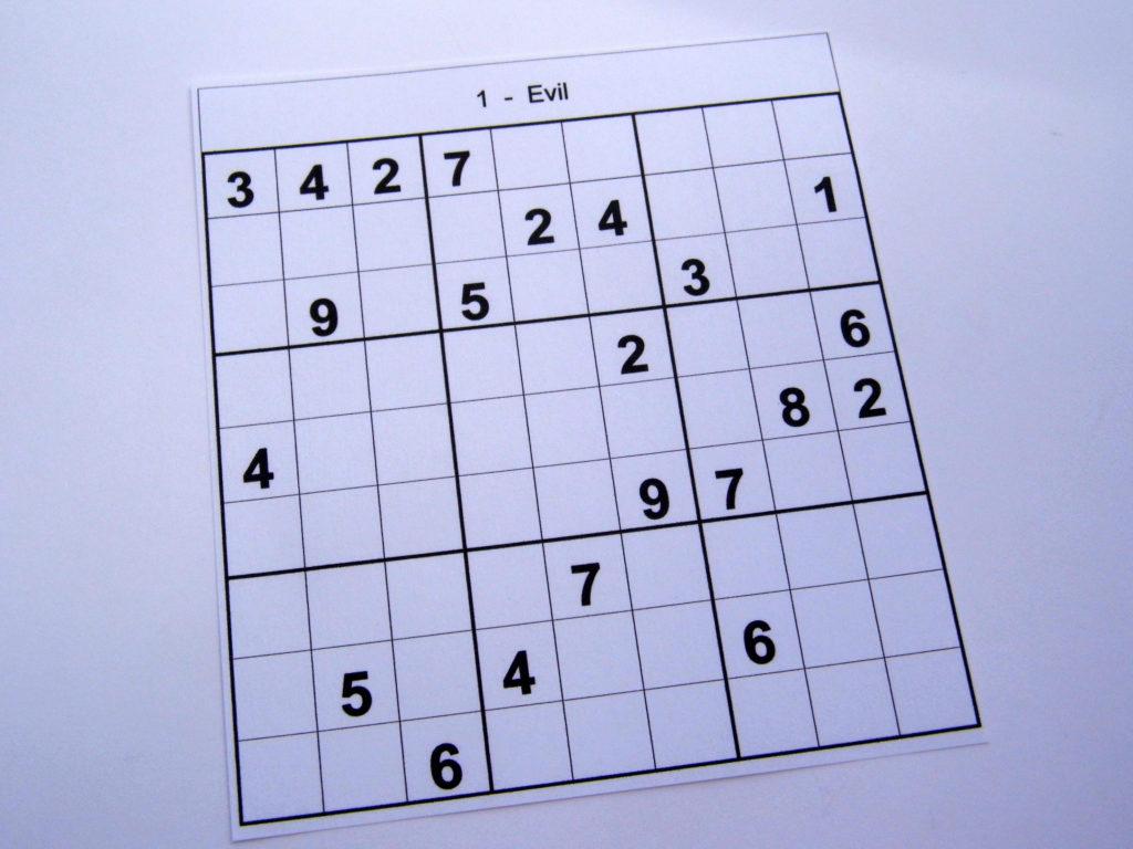 Super Hard Sudoku Puzzles Printable Printable Template Free