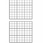 Symmetrical Sudoku With Answers Vector Set Sudoku Blank
