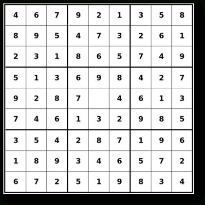 Easiest Sudoku Printable