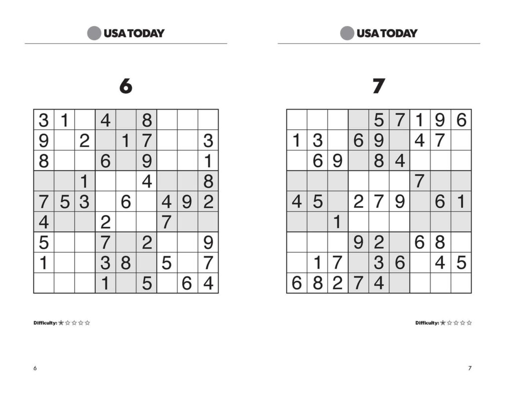 USA TODAY Sudoku Super Challenge 2 Book By USA TODAY