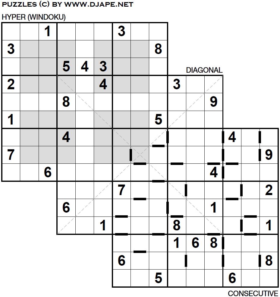 Loco Sudoku Printable Games